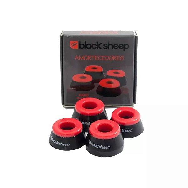 Amortecedor Black Sheep Vermelho - Hard (dureza 95A)