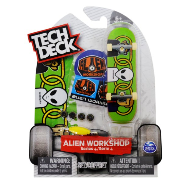 Skate de Dedo Tech Deck Allien Workshop