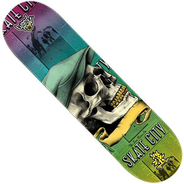 Shape Wood Light Eight Skate City Skull Hat (LIXA GRÁTIS)