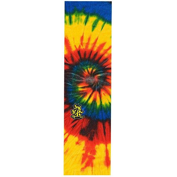 Lixa Emborrachada Wood Light Tie Dye Logo