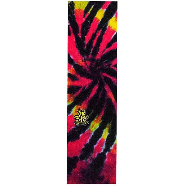 Lixa Emborrachada Wood Light Tie Dye Rosa Logo