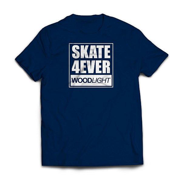Camiseta Wood Light Skate 4ever Azul Marinho