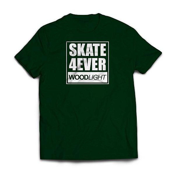 Camiseta Wood Light Skate 4ever Verde Musgo