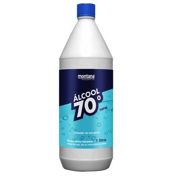 ÁLCOOL 70 1 Litro