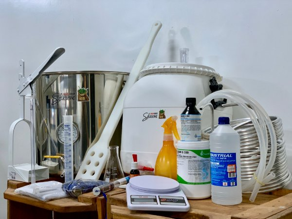 Kit Produção Cerveja Até 30 litros