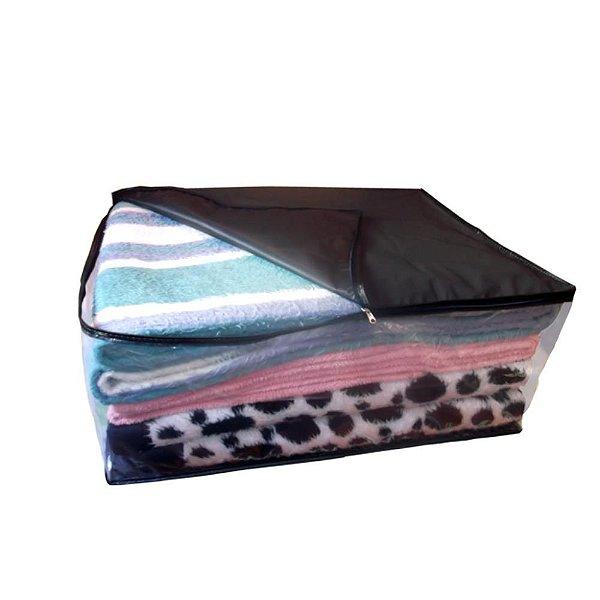 Saco Organizador Closet Edredon Cobertor C/ Ziper M