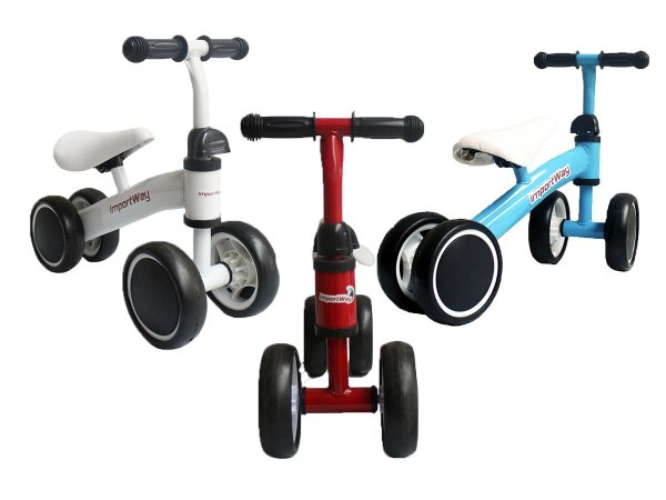 Triciclo Infantil Bicicleta Sem Pedal Equilíbrio Balance
