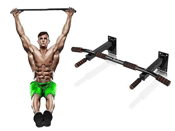 Barra Fixa Paralela Parede Treino Musculação Fit Wall Bar