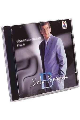 CD Quando Estás Aqui - Erlo Braun (Playbacks Inclusos)