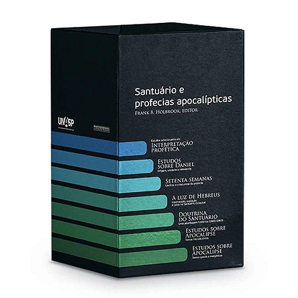 Série: O Santuário e as Profecias Apocalípticas | Darcom Series 7 vol. (Capa Dura)