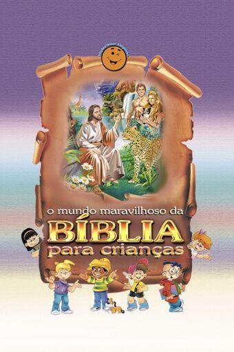 O Mundo Maravilhoso da Bíblia para Crianças (Charlote Lessa) + DVD Videolivro