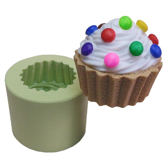 Molde de Silicone - Cupcake