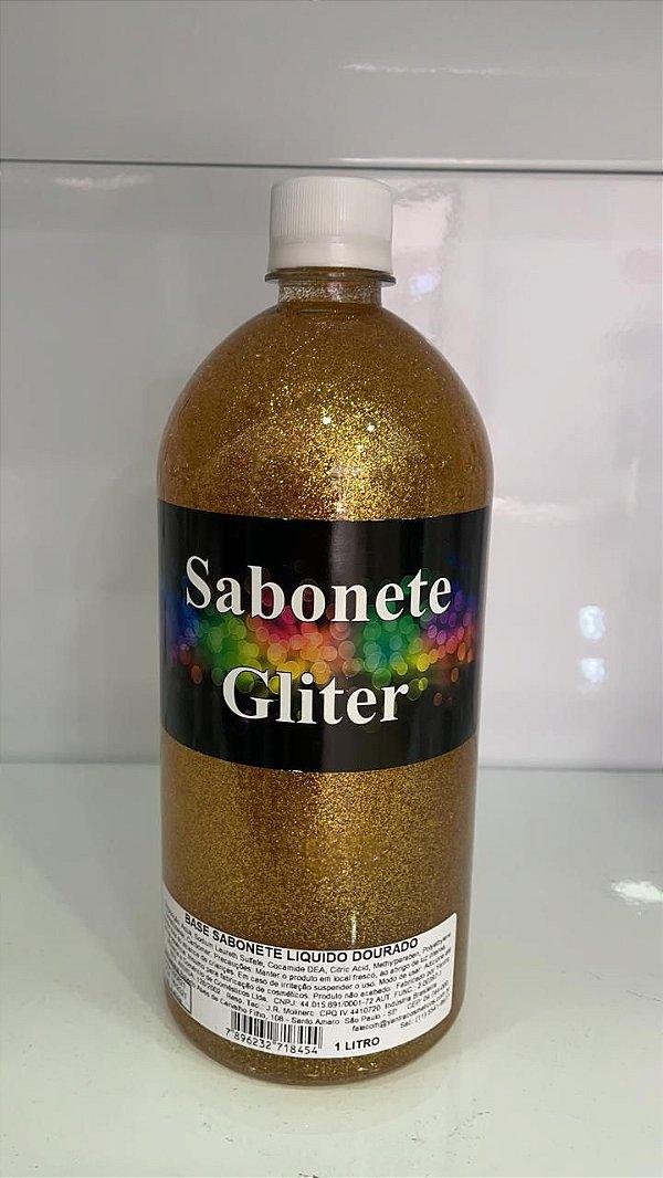 Sabonete Líquido com Gliter Ouro 1L Yantra