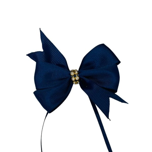 Enfeite Laço Boutique - Azul Marinho