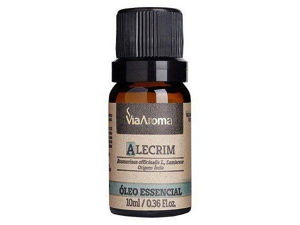 Óleo Essencial Alecrim 10mL - Via Aroma