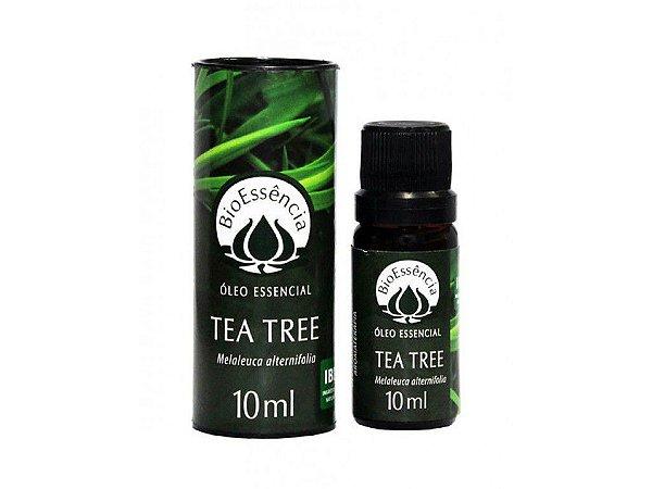 Óleo Essencial Tea Tree Melaleuca 10mL - Bio Essência