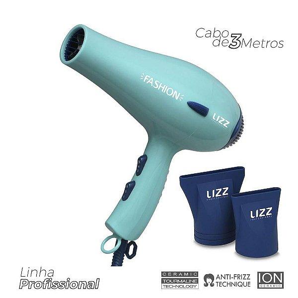Secador de Cabelo Lizz Fashion, Verde, ST4400B, 2000W, Profissional, 220V