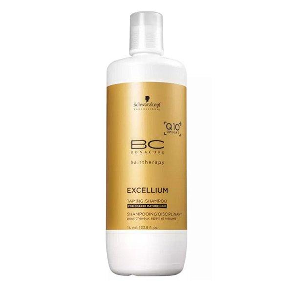 Schwarzkopf Bonacure Excellium Taming Disciplinat Shampoo 1000ml