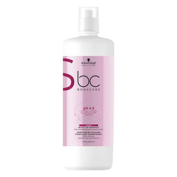 Schwarzkopf Bonacure pH4.5 Color Freeze Shampoo Rich 1000ml