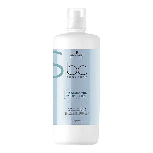 Schwarzkopf Bonacure Micellar Hyaluronic Moisture Kick Shampoo 1000ml