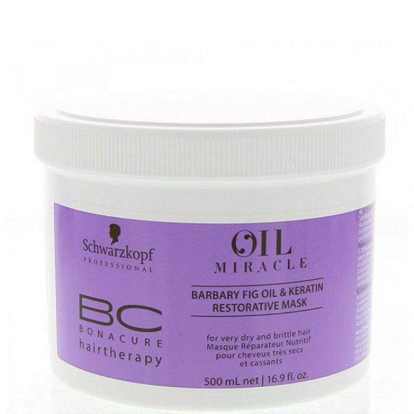 Schwarzkopf Bonacure Oil Miracle Barbary Fig Máscara Restauradora 500ml