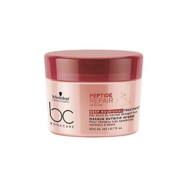 Schwarzkopf Bonacure Repair Rescue Peptide Deep Nourishing Mascara Capilar 200ml