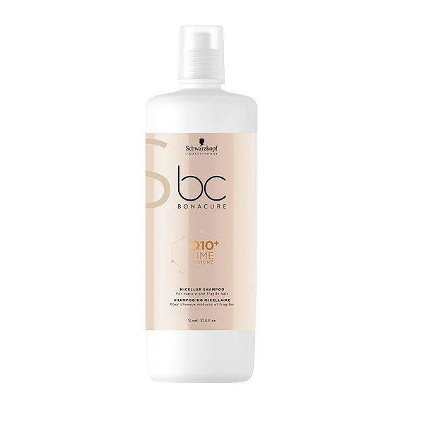 Schwarzkopf Bonacure Q10+ Time Restore Micelar Shampoo 1000ml