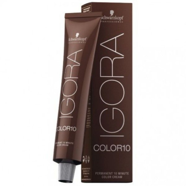 Schwarzkopf Igora Color 10 Coloração Permanente 7-1 Louro Médio Cinza 60g