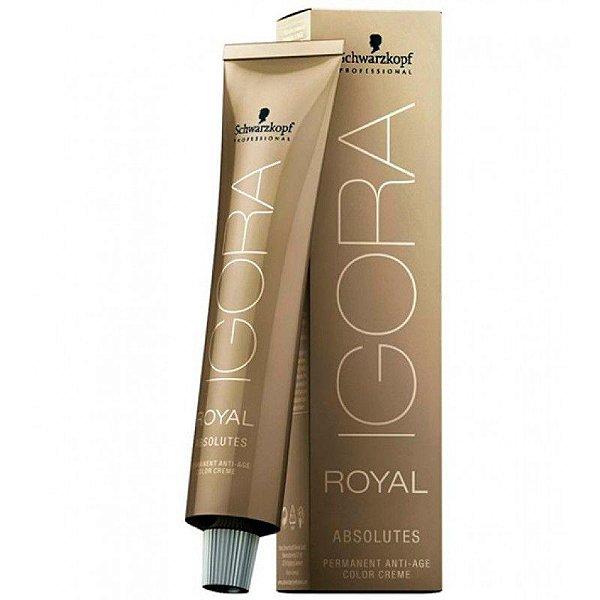 Schwarzkopf Igora Royal  Absolut Louro 6-50 Escuro Dourado Natural 60g