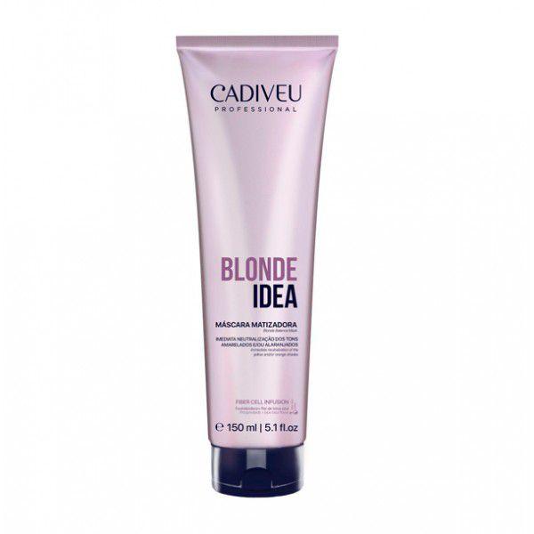 Cadiveu Blonde Idea Máscara Matizadora 150ml