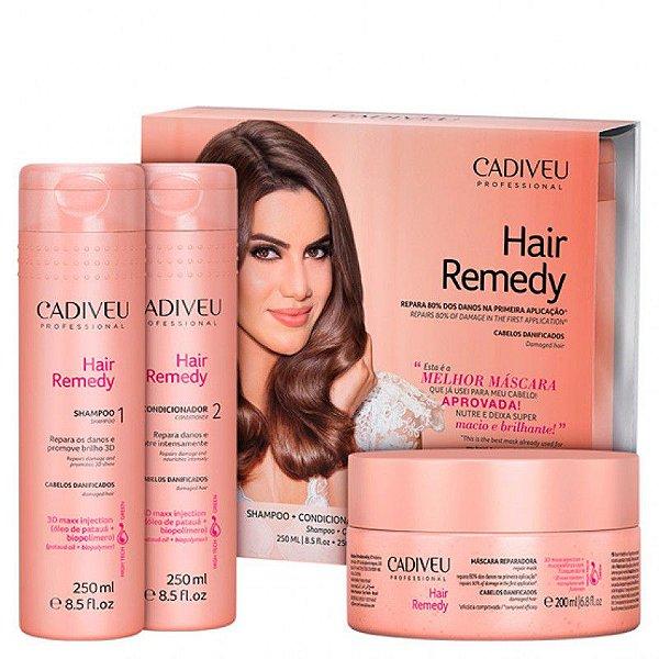 Cadiveu Hair Remedy Kit (3 Produtos)