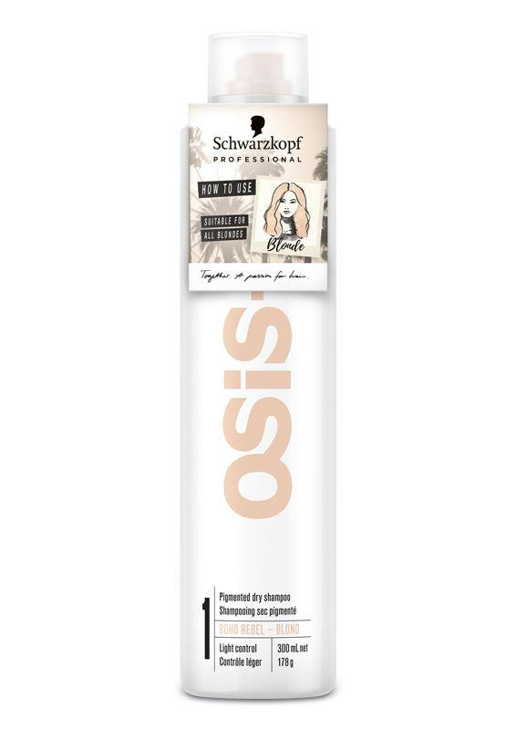 Schwarzkopf Osis+ Boho Rebel Louro Shampoo a Seco 300ml