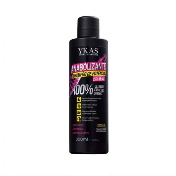 Ykas Anabolizante Shampoo 300ml