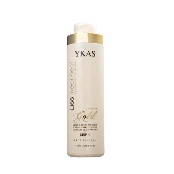 Ykas Gold Liss Shampoo Step 1 1l