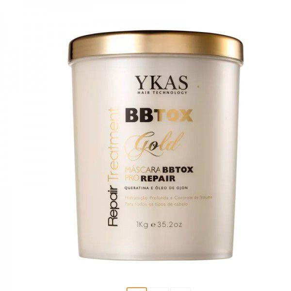 Ykas Máscara Bbtox Gold 1kg