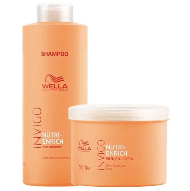 Wella Professionals Nutri Enrich Kit 2 produtos (Shampoo+Máscara)