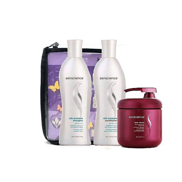 Kit Promocional Senscience Hidratante (3 produtos)+ Brinde Nécessaire