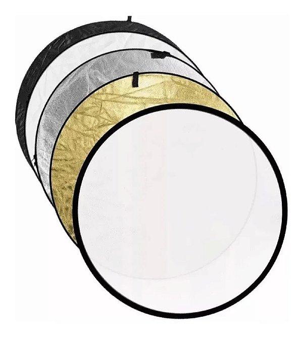 Rebatedor E Difusor Circular 5 Em 1 - Greika 110cm + Bolsa