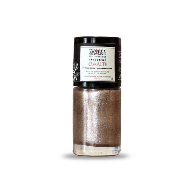 602 - Esmalte Hipoalergênico Cappuccino - 10 ml - Vegano e Natural - TWOONE ONETWO