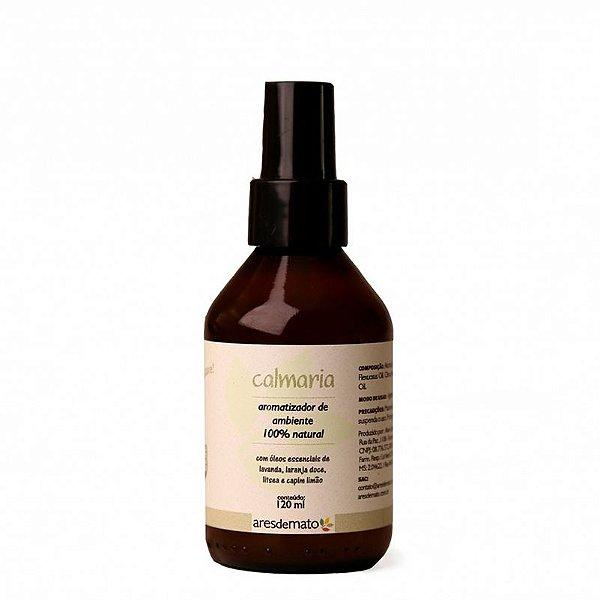 Aromatizador de Ambiente Calmaria 120 ml - 100% Natural Ares de Mato