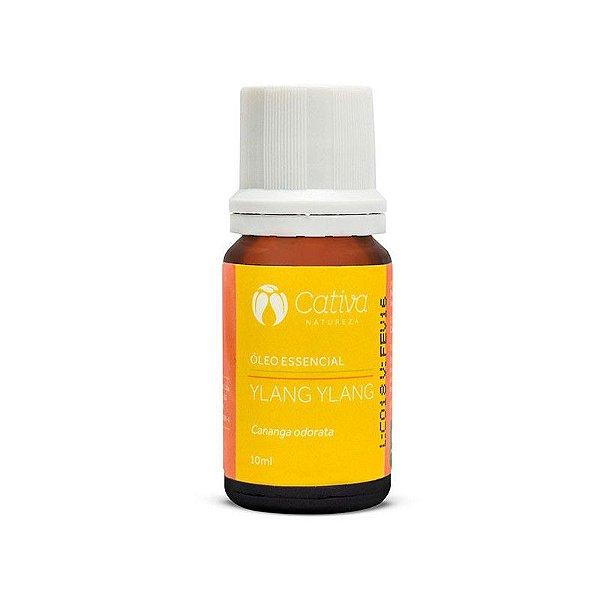 Óleo Essencial de Ylang Ylang Orgânico e Natural 10 ml - CATIVA NATUREZA