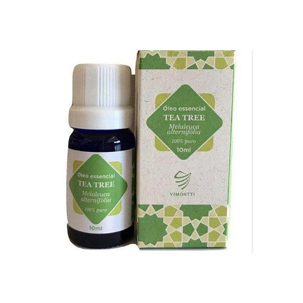 Óleo Essencial de Tea Tree (Melaleuca) 10 ml - VIMONTTI