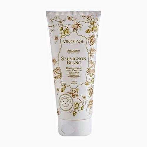 Shampoo Suavignon Blanc Varietais Cabelos Oleosos 200 ml - VINOTAGE