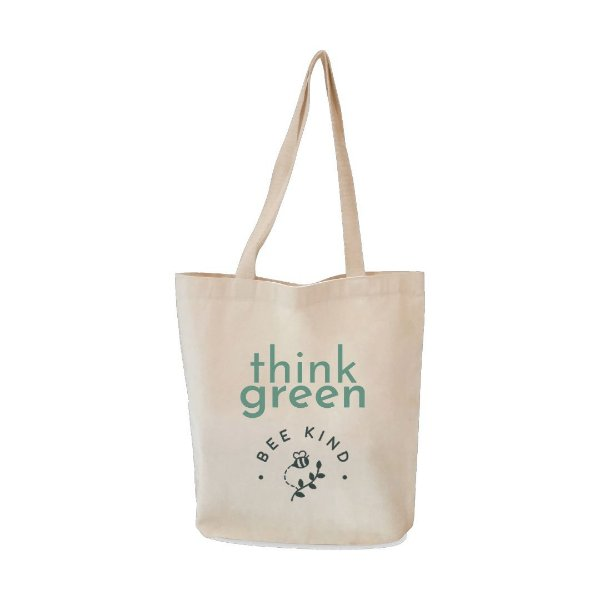 Ecobag Think Green - Bee Kind