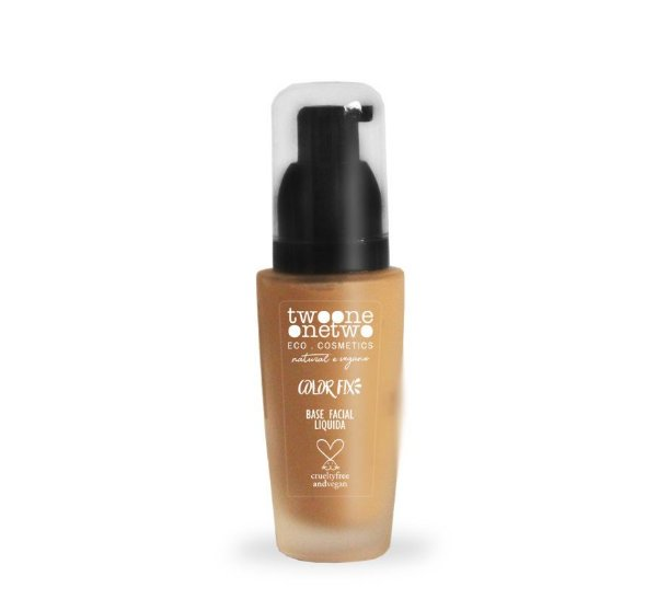 Base Facial Color Fix Makeup n° 3 - 30g - Vegana - TWOONE ONETWO