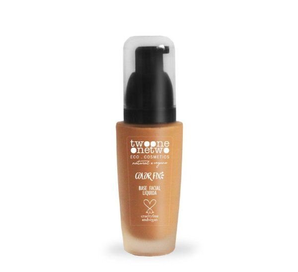 Base Facial Color Fix Makeup n° 4 - 30g - Vegana - TWOONE ONETWO