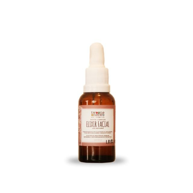 Elixir Facial Noturno Revinage - 30ml Vegano e Natural - TWOONE ONETWO