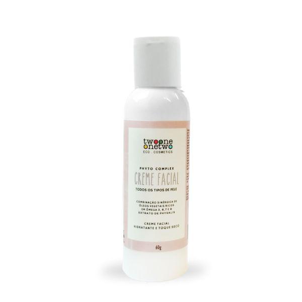 Creme Facial Hidratante Ômegas e Physallis - 60g Vegano e Natural TWOONE ONETWO