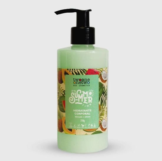 Hidratante Corporal It's Summer Time Kiwi - 250g Vegano e Natural - TWOONE ONETWO