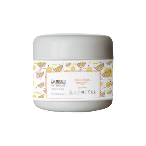 Creme Facial Antioxidante SkinFood Vitamina C - 60g Vegano e Natural TWOONE ONETWO